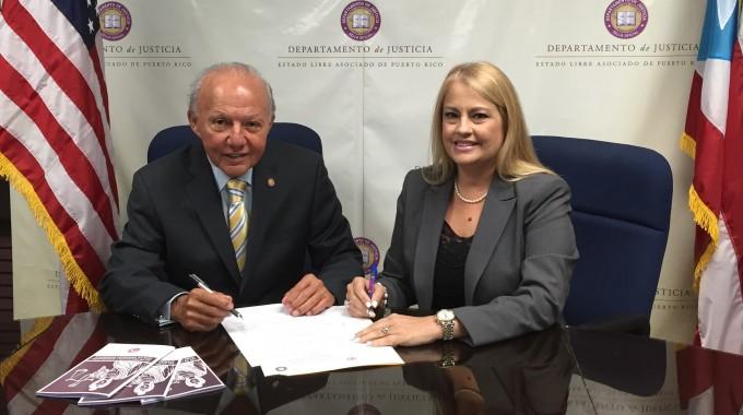 Justicia y OPM firman acuerdo para educar sobre la equidad de género